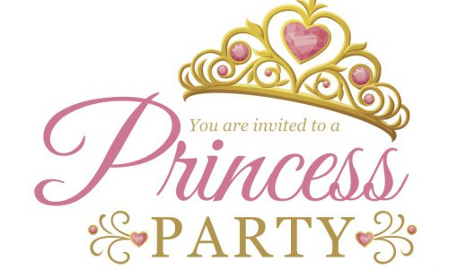 Princess Party – Sat. Jan. 25  2pm-4pm Parish Hall