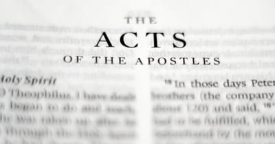 A Quick Update from Pastor Neil about Acts