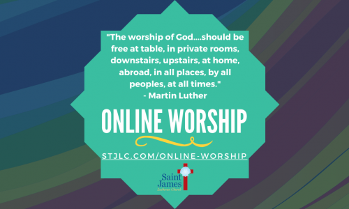 Online Worship – June 27th/28th, 2020