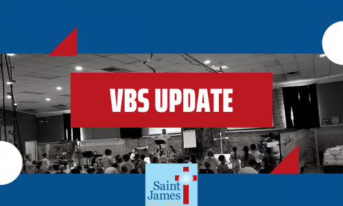 Vacation Bible School Update