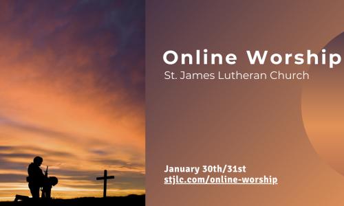 Online Worship – Feb 13th/14th, 2021