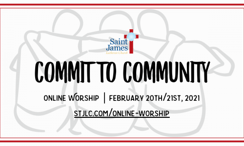 Online Worship – Feb 27th/28th, 2021