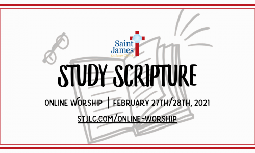 Online Worship Available Now – February 20th/21st, 2021